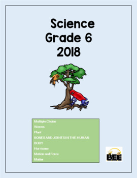 Science Grade 6 GLAT 2018 with answers