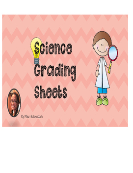 Science Grading Sheet for Any Investigation