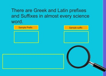 Science Greek and Latin ActivBoard Flipchart