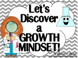 Science Growth Mindset Posters and Writing Activities