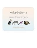 Science: Habitats - Adaptations Lesson Plan
