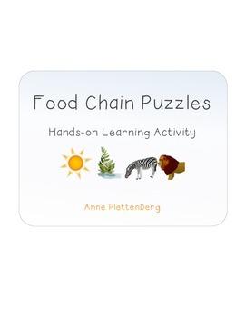 Science: Habitats - Food Chain Puzzles