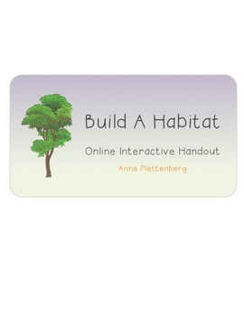 Science: Habitats and Communities - Build a Habitat