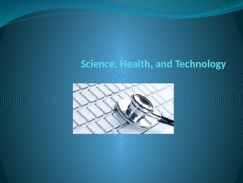 Science, Health, & Technology (In English)