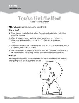 Science: Heart Rate (Ten-Minute Activities)