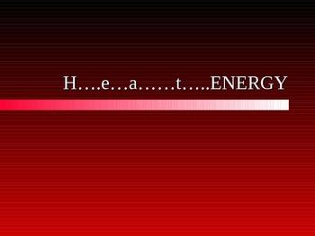Science: Heat PowerPoint