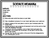 Science Hedbanz