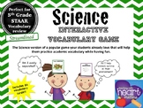 Science vocabulary game (STAAR Streamlined Science resource)