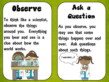 Science Help for 1st Grade