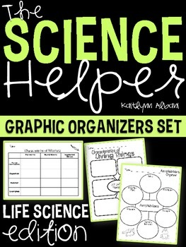 Science Helper: Life Science Graphic Organizers