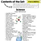 Science Reference Charts Lapbook for Grades 3-5 A Great Helper Tool