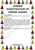 Science - Hidden Sugars - Detailed Lesson Plan (x2) for 4-
