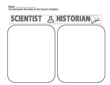 Science & Historian Sort