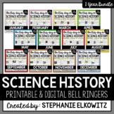 Science History Bell Ringers