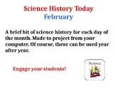 Science History Today: February