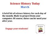 Science History Today: March