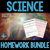 Science Homework Bundle