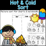 Science Hot and Cold Sort