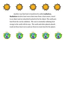 Science: How Heat is Transferred Handout