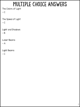 How Light Works! Explaining light waves, colors, shadows, beams, and lasers!