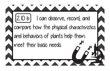"""Science """"I Cans"""" TEKS 2nd Grade NEW TEKS"""