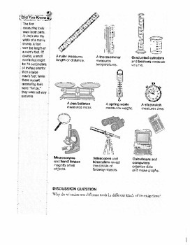 Science ISTEP+ 6th Grade Student Skill Packet