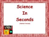 Science In Seconds (Georgia Habitats Edition)