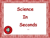 Science In Seconds:  Heat and Energy