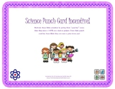 Science Incentive Punch Cards