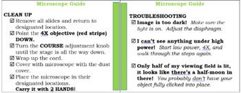 Science Information Booklet