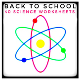 Science Information and Worksheet Activities