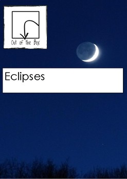 Science Information and Worksheet - Eclipses