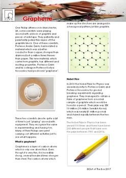 Science Information and Worksheet - Graphene
