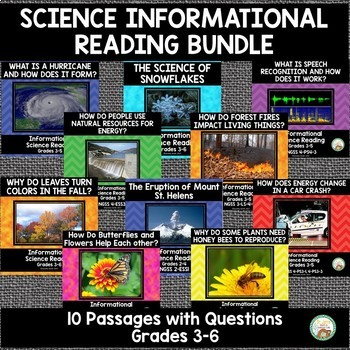 Science Informational Reading Bundle