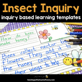 Science Inquiry - Bugs and Insects Activity (Digital and P