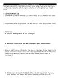 Science Inquiry Data Sheet