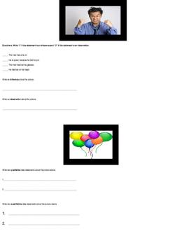 Science Inquiry Quiz