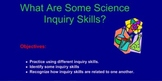 Science Inquiry Skill