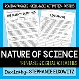 Nature of Science Unit Activities   Printable & Digital  