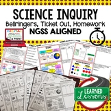 Science Inquiry Warm Ups & Bell Ringers, NGSS 6-8 Science,