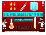 End Of Year Sale! Read a Thermometer-Science Interactive Activity-In the Lab!