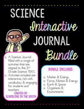 Science Interactive Journal Bundle