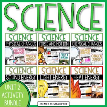 Science Interactive Notebook: Unit 2 Bundle
