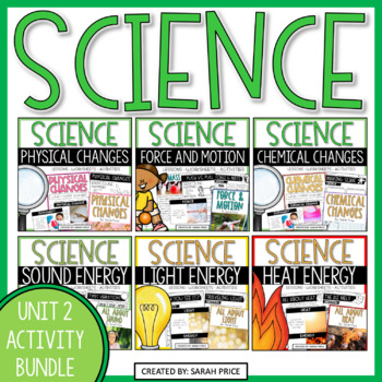 Science Interactive Notebook Bundle: Physics and Energy