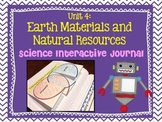 Science Interactive Journal Unit 4: Earth Material and Natural Resources