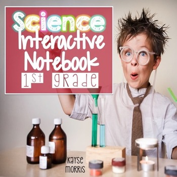 Science Interactive Notebook for 1st Grade - Weather, Light, Sound, Seasons
