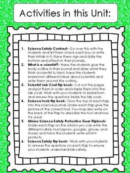 Science Interactive Notebook- 2nd Grade Bundle
