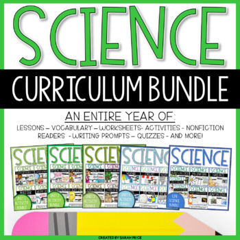 Science Interactive Notebook Yearly Bundle
