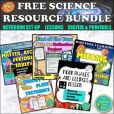 Science Interactive Notebook Bundle | Activities | Lessons