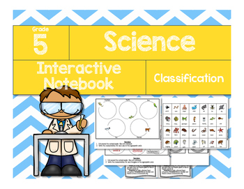 Science Interactive Notebook: Classification